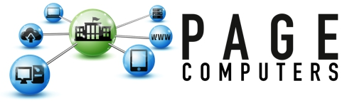 Page Computers Support Retina Logo